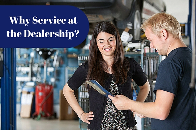 Why You Should Go to the Dealership Service Department