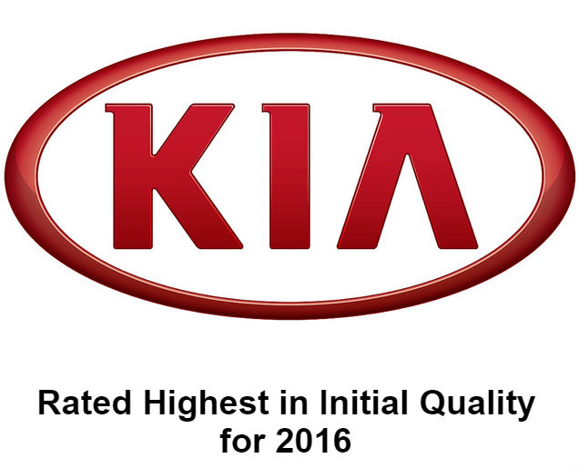 Kia Highest in Initial Quality