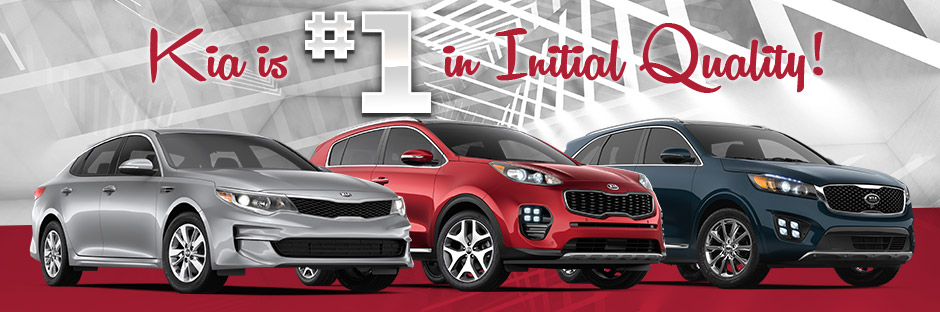 Kia Was #1 by J.D. Power for Initial Quality | Evansville, IN