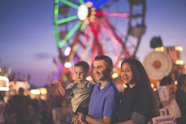 Family at Festival | Evansville, IN