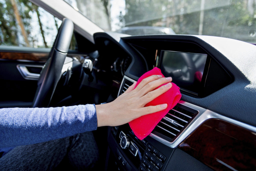 Disinfect Your Car Interior